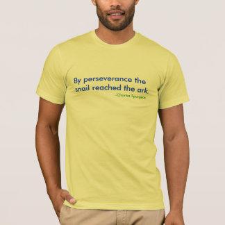かたつむりT Tシャツ