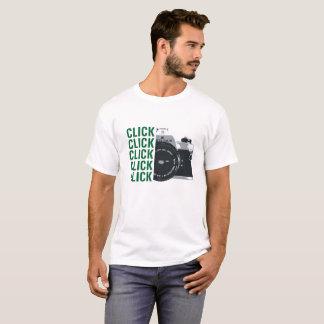 かちりと言う音のかちりと言う音のかちりと言う音のかちりと言う音のかちりと言う音 Tシャツ