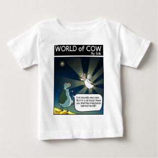 かまれた忙しい ベビーTシャツ