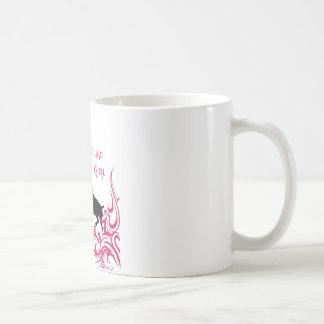 かみ傷は女の子を好みます コーヒーマグカップ