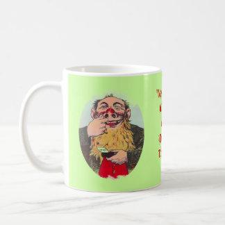 かみ砕くタバコのChawのギフトのマグおもしろいの助言の言葉! コーヒーマグカップ