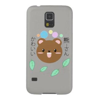 かわいいかかわいいくま電話箱(色を選んで下さい) GALAXY S5 ケース