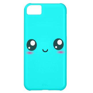 かわいいかわいいのスマイリー-青カスタマイズ可能な色 iPhone5Cケース