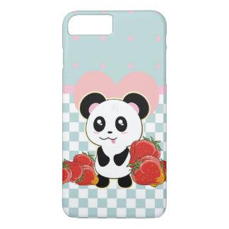 かわいいかわいいのパンダのいちご iPhone 8 PLUS/7 PLUSケース