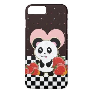 かわいいかわいいのパンダ iPhone 8 PLUS/7 PLUSケース