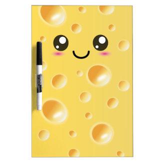 かわいいかわいいの幸せなチーズ ホワイトボード