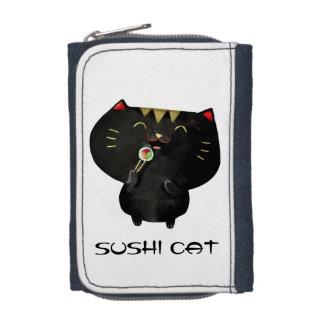 かわいいかわいいの黒い寿司猫