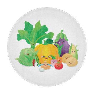 かわいいかわいい余りに野菜を食べるため カッティングボード