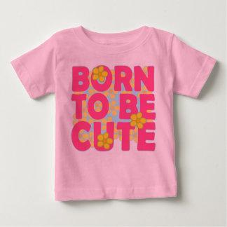 かわいいがあるために生まれて下さい ベビーTシャツ