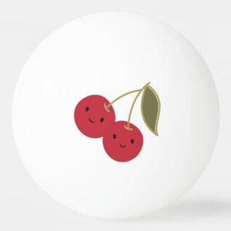 かわいいさくらんぼ 卓球ボール