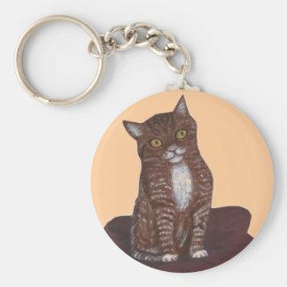 かわいいしかしhissy猫 キーホルダー