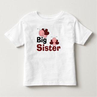 かわいいてんとう虫の姉 トドラーTシャツ
