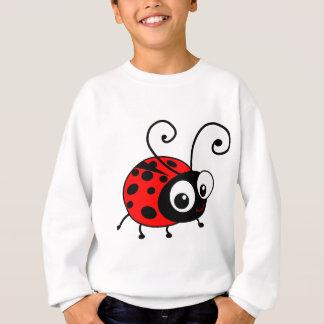 かわいいてんとう虫 スウェットシャツ