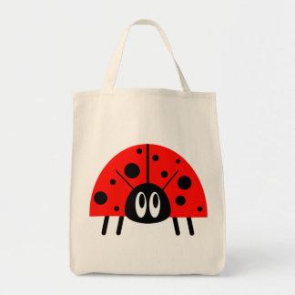 かわいいてんとう虫 トートバッグ