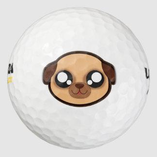 かわいいのおもしろい犬のゴルフ・ボール ゴルフボール