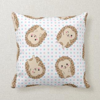 かわいいのかわいいハリネズミの枕 クッション