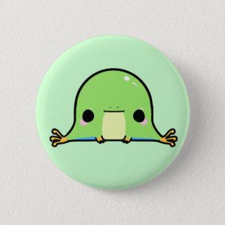 かわいいのカエル(背景を変えます!) 缶バッジ
