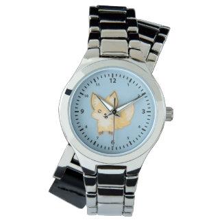 かわいいのキツネ 腕時計