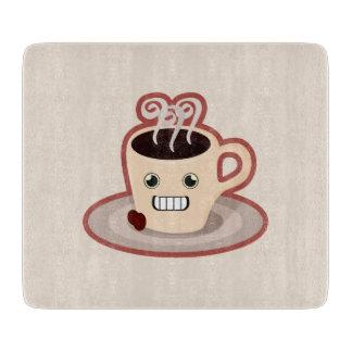 かわいいのコーヒー カッティングボード