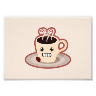 かわいいのコーヒー フォトプリント