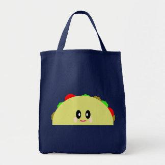 かわいいのタコスのおいしく幸せでかわいい食糧 トートバッグ