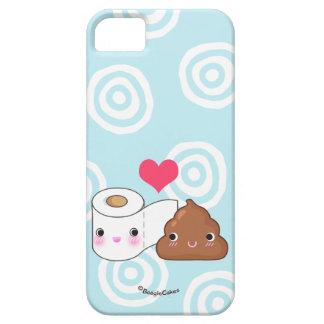 かわいいのトイレットペーパー及びウンチの電話箱 iPhone SE/5/5s ケース