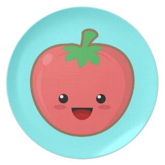 かわいいのトマト プレート