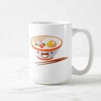 かわいいのヌードル コーヒーマグカップ