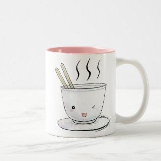 かわいいのヌードル ツートーンマグカップ