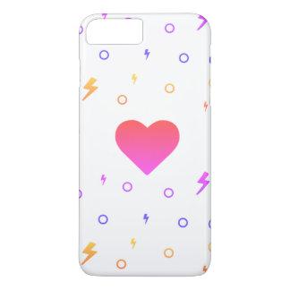 かわいいのハートパターン電話箱 iPhone 8 PLUS/7 PLUSケース