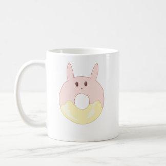 かわいいのバニードーナツ コーヒーマグカップ
