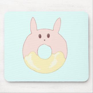 かわいいのバニードーナツ マウスパッド