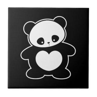 かわいいのパンダ タイル
