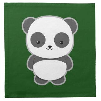 かわいいのパンダ ナプキンクロス
