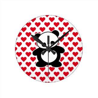 かわいいのパンダ 時計