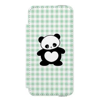 かわいいのパンダ INCIPIO WATSON™ iPhone 5 財布 ケース