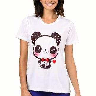 かわいいのパンダ T-シャツ