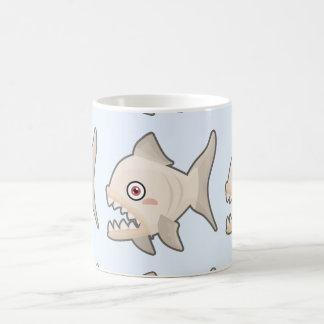 かわいいのピラニア コーヒーマグカップ