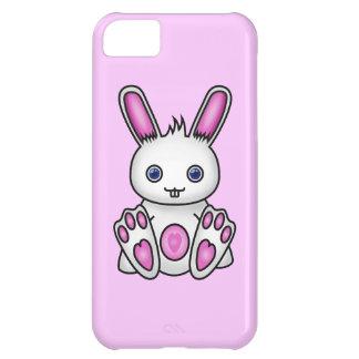 かわいいのピンクのバニー iPhone5Cケース