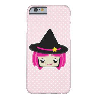 かわいいのピンクの髪の魔法使いのiPhoneの場合 Barely There iPhone 6 ケース