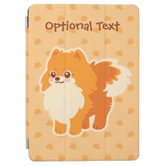 かわいいのポメラニア犬の漫画犬 iPad AIR カバー