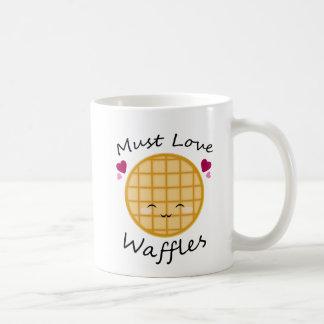 かわいいのワッフル コーヒーマグカップ