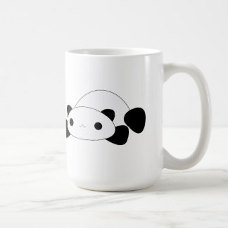 かわいいの不精なパンダのコーヒー・マグ コーヒーマグカップ