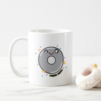 かわいいの円盤投げ選手のマグのギフト コーヒーマグカップ