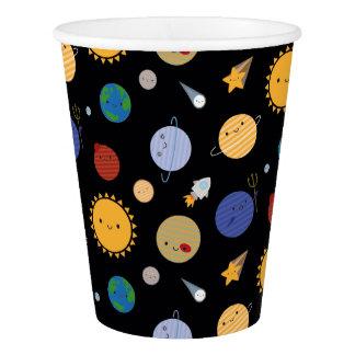 かわいいの太陽系 紙コップ