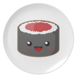 かわいいの寿司 プレート
