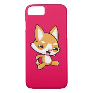 かわいいの幸せな犬 iPhone 8/7ケース