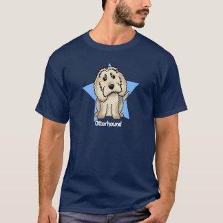 かわいいの星のカワウソ猟犬 Tシャツ