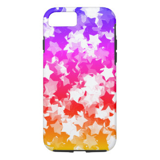 かわいいの星のネオン熱帯Gyaruの女の子 iPhone 8/7ケース