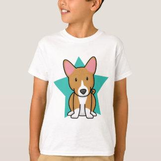 かわいいの星のBasenjiの子供のTシャツ Tシャツ